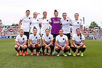 Boyds, MD - June 21, 2014: The Portland Thorns defeated the Washington Spirit 6-1 during their NWSL match at the Maryland SoccerPlex.