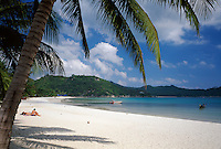 Thailand, island Ko Pha Ngan, Thong Nai Pan Yai bay and beach