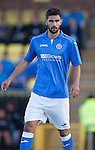 St Johnstone FC.. 2014-2015 Season<br /> Thomas Tsitas<br /> Picture by Graeme Hart.<br /> Copyright Perthshire Picture Agency<br /> Tel: 01738 623350  Mobile: 07990 594431