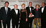 Tim Russert, Jack Welch, Hillary Rodham Clinton, Simon Winchester, Liz Smith and Parker Ladd.Attending  the Literacy Partners 20th  Annual Gala,.AN EVENING OF READINGS at Lincoln Center, Honoring Tom Brokaw, Tim Russert and Jack Welch..May 3, 2004.