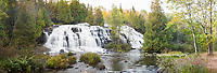 64797-00807 Bond Falls in fall, Ontonagon County, MI