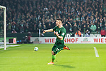 12.03.2018, Weserstadion, Bremen, GER, 1.FBL, SV Werder Bremen vs 1. FC Koeln<br /> <br /> im Bild<br /> Milot Rashica (Werder Bremen #11) bejubelt seinen Treffer zum 2:1, <br /> <br /> Foto &copy; nordphoto / Ewert