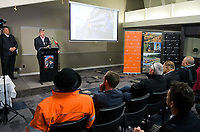 Provincial Growth Fund railway project launch at Copthorne Hotel in Masterton, New Zealand on Tuesday, 2 July 2019. Photo: Dave Lintott / lintottphoto.co.nz