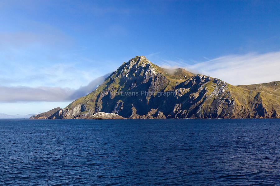 A view of Cape Horn, the southern most point in South America, in Chile.