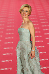 Cayetana Guillen Cuervo poses at Goya Cinema Awards 2012 ceremony, at the Palacio Municipal de Congresos on February 19, 2012 in Madrid..Photo: Cesar Cebolla / ALFAQUI