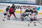 Bonnyville, AB - Dec 10 2018 - Canada East vs. Canada West during the 2018 World Junior A Challenge at the R.J. Lalonde Arena in Bonnyville, Alberta, Canada (Photo: Matthew Murnaghan/Hockey Canada)