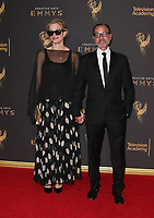 LOS ANGELES, CA - SEPTEMBER 09: Fisher Stevens, Alexis Bloom, at the 2017 Creative Arts Emmy Awards at Microsoft Theater on September 9, 2017 in Los Angeles, California. <br /> CAP/MPIFS<br /> &copy;MPIFS/Capital Pictures