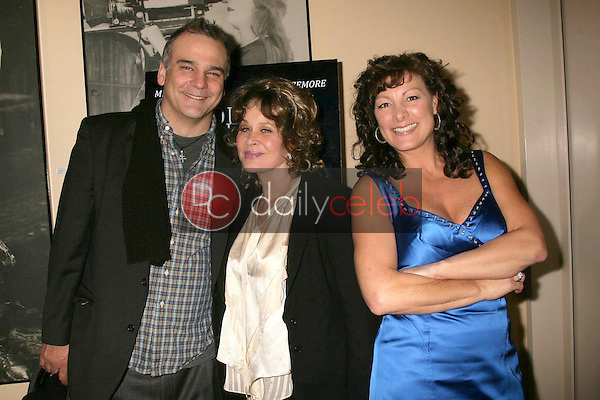 Stephen Eckelberry with Karen Black and Mimi Lesseos <br /> at the Los Angeles Screening of 'Double Duty'. Raleigh Studios, Los Angeles, CA. 12-13-08<br /> Dave Edwards/DailyCeleb.com 818-249-4998