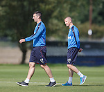Lee Wallace and Kenny Miller