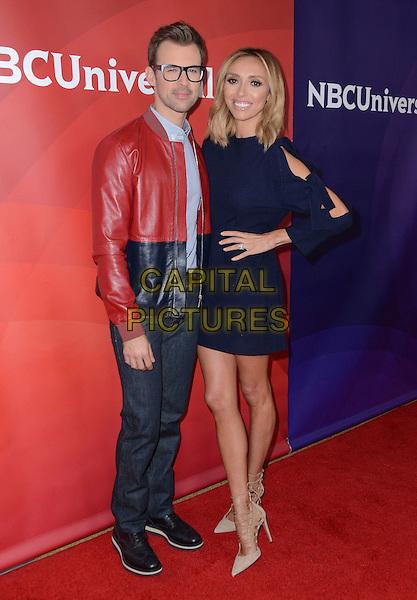 14 January  - Pasadena, Ca - Brad Goreski, Guliana Rancic. NBC Universal Press Tour Day 2 held at The Langham Huntington Hotel.  <br /> CAP/ADM/BT<br /> &copy;BT/ADM/Capital Pictures