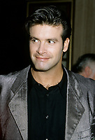 Montreal (Qc) CANADA - 1996  File Photo- (exact date unknow)<br /> <br /> Singer Roch Vosine at the Montreal launch of his  english album KISSING RAIN<br /> <br /> -Photo (c)  Images Distribution<br /> <br /> <br />  - PHOTO D'ARCHIVE :  Agence Quebec Presse
