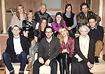 The Company - front row: Chris Perfetti, Elizabeth Marvel, Director Sam Gold, Maggie Grace, Ellen Burstyn, Ben Rappaport.Back row: Cassie Beck, Maddie Corman, Reed Birney, Madeleine Martin, Mare Winningham & Sebastian Stan attending the Meet & Greet for the Roundabout Theatre Company's 'Picnic' at their rehearsal studios  in New York City. November 29, 2012.