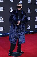 14 November 2019 - Las Vegas, NV - Bad Bunny. 2019 Latin Grammy Awards Red Carpet Arrivals at MGM Grand Garden Arena. Photo Credit: MJT/AdMedia