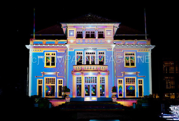The Chromolithe installation from Patrice Warrener at the Glow Lightfestival in Eindhoven (Holland, 10/11/2013)