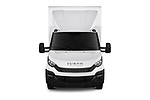 Car photography straight front view of a 2018 Iveco Daily - 4 Door Cargo Van Front View