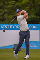 Brooks Koepka (USA) watches his tee shot on 14 during the round 1 of the AT&T Byron Nelson, Trinity Forest Golf Club, Dallas, Texas, USA. 5/9/2019.<br /> Picture: Golffile | Ken Murray<br /> <br /> <br /> All photo usage must carry mandatory copyright credit (© Golffile | Ken Murray)