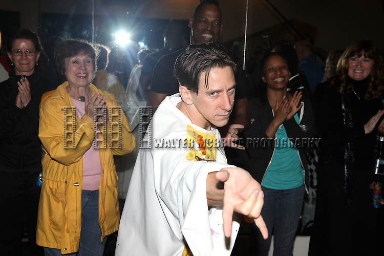Luther Creek.during the 'Spider-Man Turn Off The Dark' Opening Night Gypsy Robe Ceremony for Recepient Luther Creek at the Foxwoods Theatre in New York City.