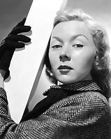 circa 1950: Film star, Gloria Grahame (1923 - 1981)