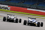 Wade Eastwood - CF Racing Dallara F308 Mercedes HWA & Robbie Watts - Team Fox Racing Dallara F308 Volkswagen-Spiess