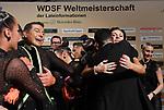 07.12.2019,  GER; Tanzen, WDSF Weltmeisterschaft der Lateinformationen, Finale, im Bild Gruen-Gold-Club Bremen (GER) jubelt ueber den Sieg Foto © nordphoto / Witke *** Local Caption ***