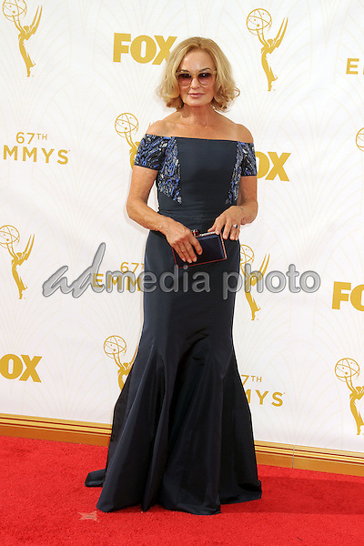 20 September 2015 - Los Angeles, California - Jessica Lange. 67th Annual Primetime Emmy Awards - Arrivals held at Microsoft Theater. Photo Credit: Byron Purvis/AdMedia