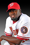25 February 2007: Washington Nationals shortstop Cristian Guzman poses for his Photo Day portrait at Space Coast Stadium in Viera, Florida.<br /> <br /> Mandatory Photo Credit: Ed Wolfstein Photo<br /> <br /> Note: This image is available in a RAW (NEF) File Format - contact Photographer.