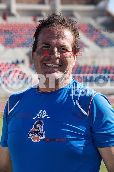 Entrenador de Porteros: Filiberto Romero  ---<br /> <br /> CUERPO TECNICO , durante el primer entrenamiento  del equipo de futbol Cimarrones de Sonora en el remodelado Estadio H&eacute;roe de Nacozari. <br /> Previo al prime partido de el torneo Clausura liga Ascenso MX 2016.**<br /> Hermosillo Sonora a 7 enero 2016