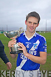 The St Marys Captain Daniel O'Sullivan with the Jack Murphy - South Kerry Champions 2011.