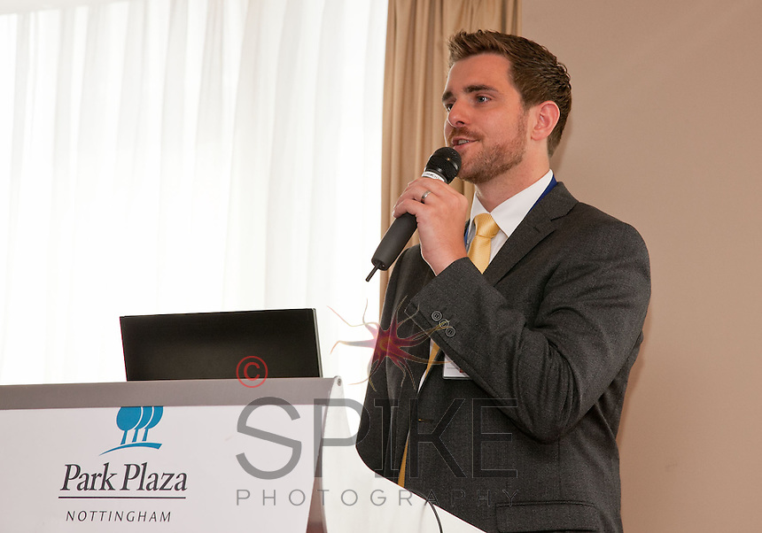 Nottingham City Business Club President Jonathan English