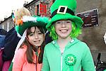 Ellen Brady Katie Fogarty St Patricks Day parade in Slane..Picture: Fran Caffrey / www.newsfile.ie ..