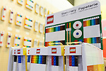 Lego Stationery products on display at the Tokyo Gift Show exhibition on September 7, 2016, Tokyo, Japan. The 82nd Tokyo International Gift Show Autumn 2016 exhibition introduced Japanese and international goods from 2,729 companies, 686 of which came from 19 different countries outside of Japan, over three days from September 7th to 9th at Tokyo Big Sight. (Photo by Rodrigo Reyes Marin/AFLO)