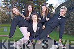FESTIVAL OF DANCE: Member's of the Kerry Youth Dance Theatre launching the Festival of Dance to be held at Siamsa Tire, Tralee on friday 5th of April l-r: Maeve Cantillon, Denise Brennan, Catherine O'Halloran, Aileen Murphy and Bláithín Ní Mhurchú.