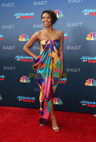 "11 March 2019 - Pasadena, California - Gabrielle Union. NBC's ""America's Got Talent"" Season 14 Kick-Off held at Pasadena Civic Auditorium. <br /> CAP/ADM/FS<br /> ©FS/ADM/Capital Pictures"