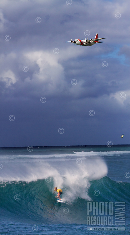 John John Florence competes at the Vans World Cup of Surfing 2011, North Shore, O'ahu.