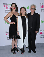 12 September  2017 - West Hollywood, California - Mary Chieffo, Beth Grant, Michael Chieffo. &quot;The Mindy Project&quot; Final Season Premiere Party held at Microsoft Theatre L.A. Live in West Hollywood. <br /> CAP/ADM/BT<br /> &copy;BT/ADM/Capital Pictures