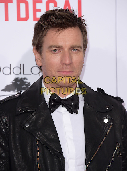 Ewan McGregor attends The Mortdecai Los Angeles Premiere held at The TCL Chinese Theater  in Hollywood, California on January 21,2015                                                                               <br /> CAP/DVS<br /> &copy;DVS/Capital Pictures