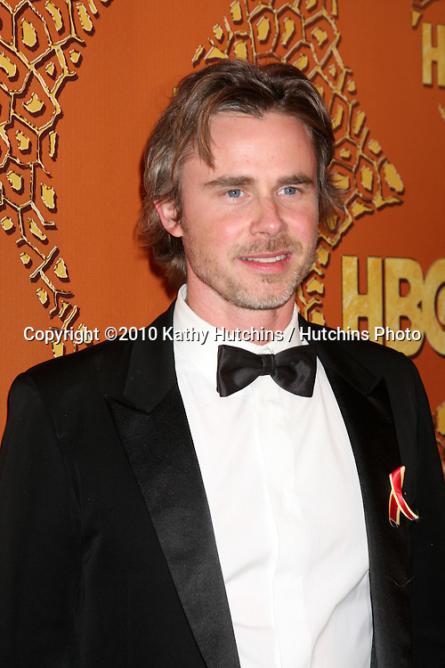 Sam Trammell.arriving at the 67th Annual Golden Globe Awards Official HBO After Party.Beverly Hilton Hotel.Beverly Hills, CA.January 17, 2010.©2010 Kathy Hutchins / Hutchins Photo....