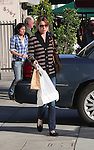 February 5th 2011 Exclusive ..Ellen Pompeo picked up lunch at LE Pain Quotidien restaurant in West Hollywood. Ellen was wearing a stripped sweater carrying her food to go & a big tan purse handbag. ..AbilityFilms@yahoo.com.805-427-3519.www.AbilityFilms.com.