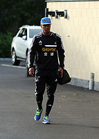 Wednesday 07 August 2013<br /> Pictured: Jonathan de Guzman departing from the Swansea Training ground.  <br /> Re: Swansea City FC travelling to Sweden for their Europa League 3rd Qualifying Round, Second Leg game against Malmo.