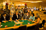 Nevada, Caesars Palace and Casino, gaming, gambling, poker, model released, NV, Las Vegas, Caesar, Palace Guards, re-enactment, Cleopatra actors, Photo nv208-18376..Copyright: Lee Foster, www.fostertravel.com, 510-549-2202,lee@fostertravel.com