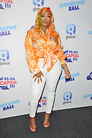 Stefflon Don at the Capital FM Summertime Ball 2019, Wembley Stadium, Wembley, London, England, UK, on Saturday 08th June 2019.<br /> CAP/CAN<br /> ©CAN/Capital Pictures