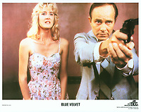 Blue Velvet (1986) <br /> Lobby card with Laura Dern &amp; George Dickinson<br /> *Filmstill - Editorial Use Only*<br /> CAP/KFS<br /> Image supplied by Capital Pictures