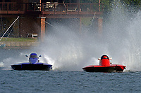 Samantha Ewancio, T-314, Richard Shaw, T-81    (1.5 Litre Stock hydroplane(s)