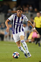 SAN JOSE, CA - JULY 16: Waldo Rubio  #23 of Real Valladolid during a friendly match between the San Jose Earthquakes and Real Valladolid on July 16, 2019 at Avaya Stadium in San Jose, California.