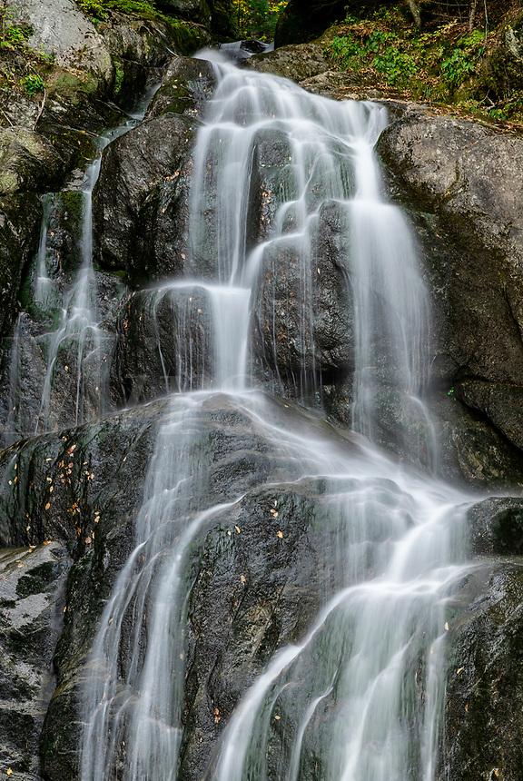 Moss Glen Falls waterfall.