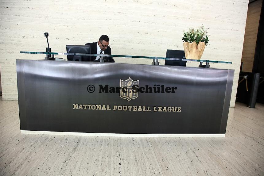 Empfang in der NFL Zentrale