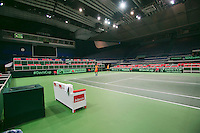 29-01-2014,Czech Republic, Ostrava,  Cez Arena, Davis-cup Czech Republic vs Netherlands, practice, <br /> Photo: Henk Koster