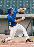 Fort Worth Cats Catcher Kelley Gulledge (21) in action during the American Association of Independant Professional Baseball game between the Grand Prairie AirHogs and the Fort Worth Cats at the historic LaGrave Baseball Field in Fort Worth, Tx. Fort Worth defeats Grand Prairie 8 to 7...