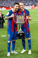 Copa del Rey (King's Cup) Final between Deportivo Alaves and FC Barcelona