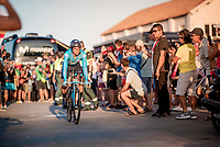 Nelson Oliveira (POR/Movistar) at the stage start in Torrevieja <br /> <br /> Stage 1 (TTT): Salinas de Torrevieja to Torrevieja (13.4km)<br /> La Vuelta 2019<br /> <br /> ©kramon